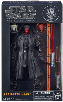 Star Wars The Black Series Darth Maul Figure 6 inch