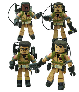 Ghostbusters Minimates I Love This Town Set