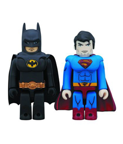 DC Heroes Batman & Superman Kubrick 2pk