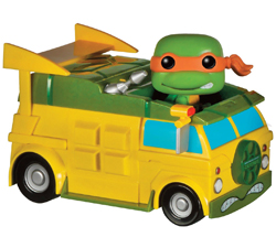 Teenage Mutant Ninja Turtles Pop! Vinyl Rides Turtle Van w/ Michelangelo