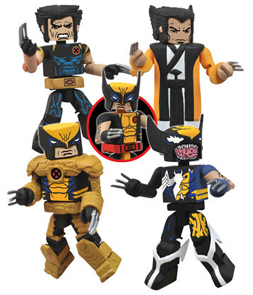 SDCC 2013 Exclusive Wolverine Saga Minimates Set
